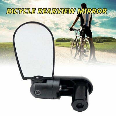Cycling Bike Bicycle Cycle Handlebar Flexible Rear View Rearview Mirror Safe PN • 7.83£