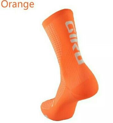 New Cycling Socks For Winter,orange,size 6-11 ,2 Working Days Delivery.,uk Stock • 4.99£