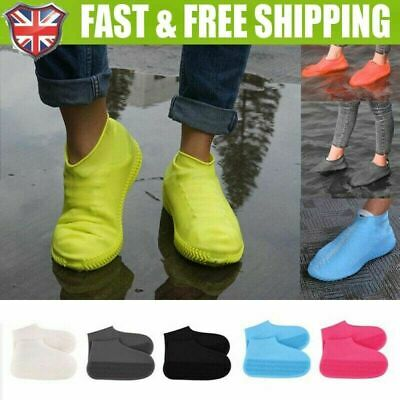 Silicone Overshoes Rain Waterproof Shoe Covers Boot Cover Protector Recyclable • 3.79£