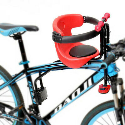 Mountain Road Bike Child Safety Seat Kids Bicycle Front Chair W/ Armrest Guard • 33.99£