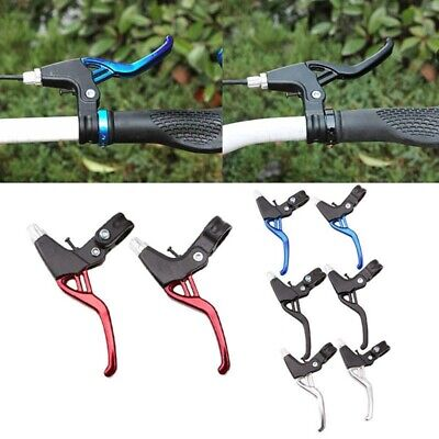 2PCS MTB Bicycle BMX Mountain Bike Brake Levers V-Brakes Set Handle Gear  • 10.99£