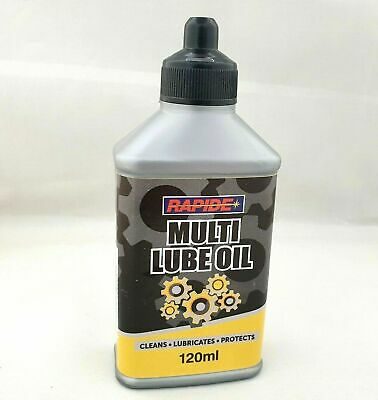 Essential Cycle Bike Chain Oil Cleans Protect Lubricates 120ml Multi Lube Oil • 3.95£