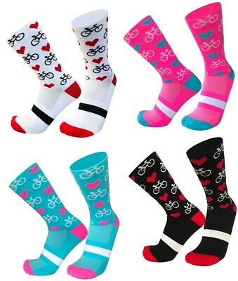 Cycling Sport Socks | Novelty Gift Present For Cyclist | Cycle Clothing - NEW • 4.99£