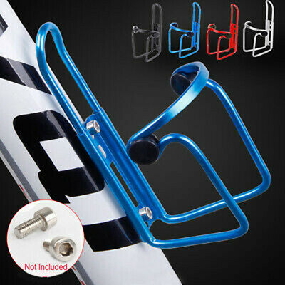 Mountain Bike Bicycle Cycling Water Drink Bottle And Holder Cage Durable  • 5.25£