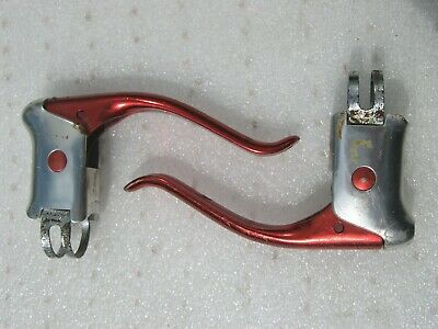 Weinmann  Red Dot   Brake Levers Vintage Old School Eroica With Red Levers • 3.20£