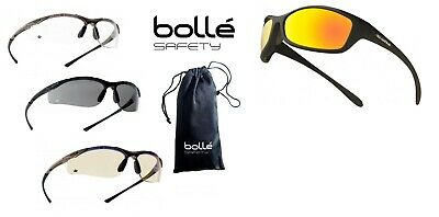Bolle Contour, Spider Cycling Safety Glasses Riding Sports En166 Ppe • 12.99£
