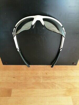 Kuota White Mirrored Cycling Sun Glasses With Clear Lenses And Case.  • 22£