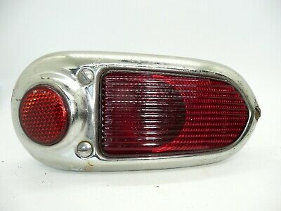 2 Vintage Rear Lights And Reflectors Triumph ? Wheel Arch Curved Fit Stimsonite • 15£