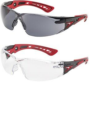 Bolle RUSH+ Plus Safety Glasses Spectacles Eye Protection Cycling Skiing Sports • 10.95£