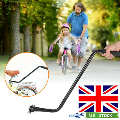 Kids Learning Push Handle Bike Parent Grab Safety Pole Bar Bicycle Control Grip • 10.99£