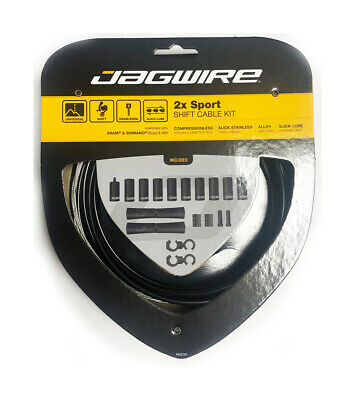 Jagwire 2 X Sport Shift Kit - Gear Cable Set • 17.99£