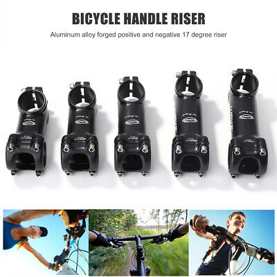 WAKE Bicycle Stem Aluminum 17 Degree MTB Bike Handlebar Stem 31.8x28.6mm • 7.99£