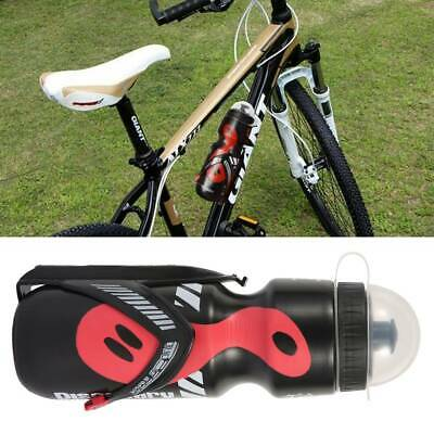 650ml Mountain Bike Bicycle Cycling Water Drink Bottle And Holder Cage Rack Kit • 5.29£