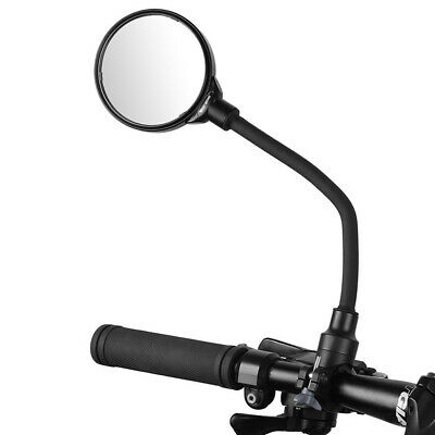 Bicycle Adjustable Handlebar Convex Rear View Mirrors Bike Rearview Mirror New • 7.99£