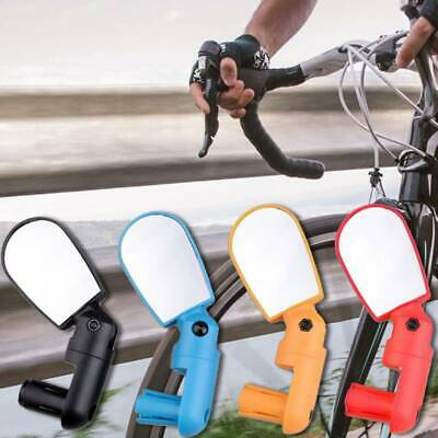 Riding Mini Rearview Mirror Bike Mirror Adjustable View Shockproof Convex Mirror • 6.09£