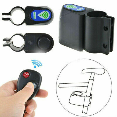Wireless Alarm Lock Bicycle Bike Anti-theft Security System+Remote Control G1 UK • 6.85£