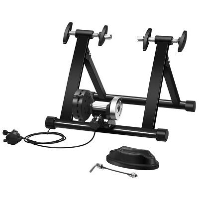 Portable Magnetic Bike Turbo Trainer Stand 8 Level Resistance Training Indoor  • 79.99£