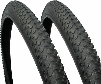 PAIR OF 26 X 1.95 MOUNTAIN MTB ATB BIKE CYCLE TYRE 26  INCH BICYCLE ROAD TYRES • 17.89£