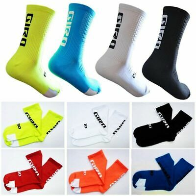 Size 6-12 Cycling Socks Mens Womens Road Mountain Bike Socks 5 Different Colors • 5.39£