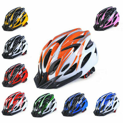 18 Bicycle Helmet Bike Cycling Adult Adjustable Unisex Safety Bicycle Equipments • 10.59£