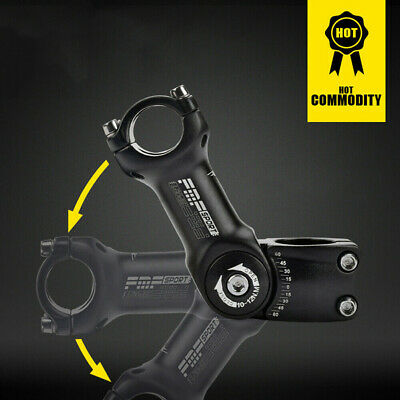 25.4/31.8mm Mountain Road Bike Stem Riser Adjustable MTB Bicycle Handlebar 2019 • 9.99£