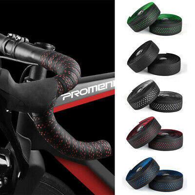 2 PCS Bicycle Handlebar Tape Bar Drop Wrap Cycling Road Bike Anti-Vibration EVA • 10.99£