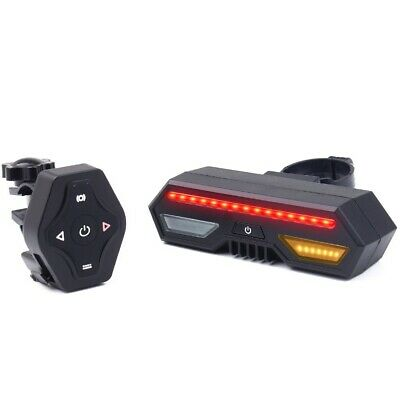 Cycling Indicator Bike Rear Light MTB Safety Turn Signals Lights Accessories UK • 18.98£
