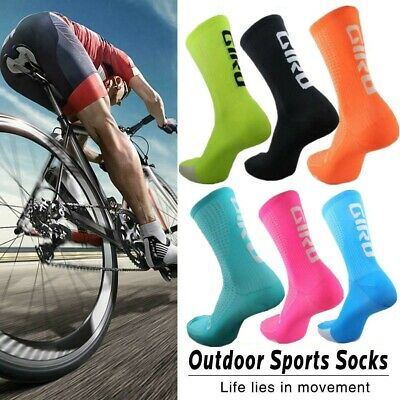 New 6-12 Unisex Bike Bicycle Riding Cycling Socks Footwear Outdoor Racing Sports • 3.99£