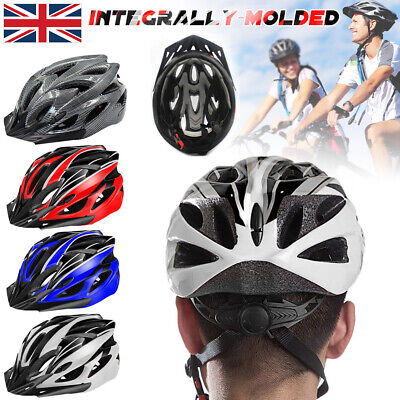 Cycle Helmet Men Women Mountain Bike Bicycle Cycling Adjustable Biking MTB UK • 11.99£