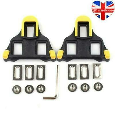 1 Pair Self-Locking Bicycle Cycling Pedals Cleats Bike Sporting Shimano SPD-SL • 5.29£
