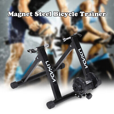 Bicycle Trainer Stationary Bike Stand Indoor Exercise Hi-Quality Foldable J6O3 • 51.88£