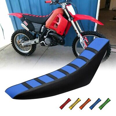 Universal Soft Motocross Motorcycle Seat Cover Dirt Bike Seat Cushion Cover • 7.85£