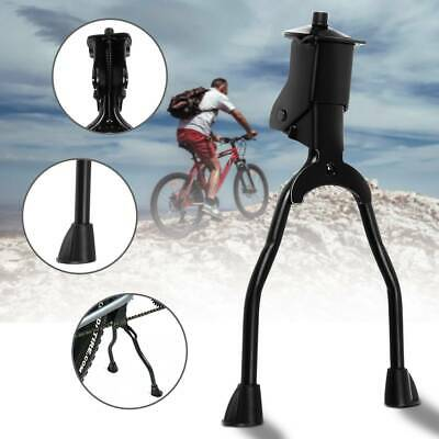 Double Leg Side Stand Kick Kickstand Bike Support Spring Center Bicycle • 7.99£
