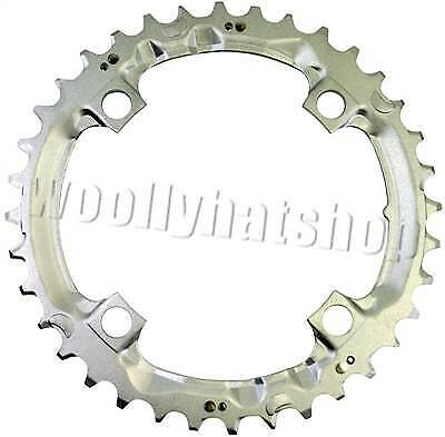 CHAINRING 36T Shimano DEORE FC-M510-S 36T Middle SILVER - Y1DS98200 104bcd • 11.99£