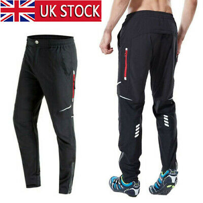 Men Cycling Trousers Athletic Sports Mountain Bike Shorts Windproof Riding Pants • 18.99£