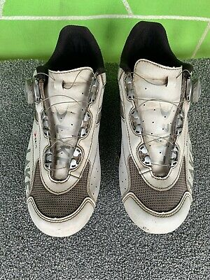Lake CX175 Cycling Shoe White Leather Shimano Cleats UK10. Used • 20£