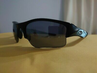 Oakley Flak Jacket Sunglasses Black Cycling Running Unisex • 29.99£