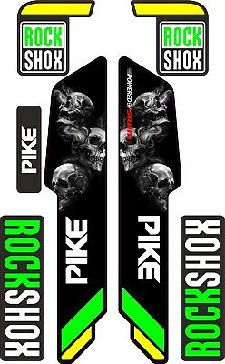 ROCK SHOX FORK Stickers Decals Mountain Bike Down Hill MTB #b093 • 7.20£