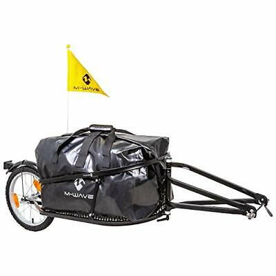 M-Wave Single 40 640081 Bicycle Luggage Trailer Single-Track Yellow • 194.99£