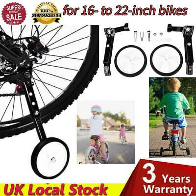 Adjustable 16  To 22 Inch Bicycle Training Wheels For Kids Child Bikes Bicycle • 12.14£