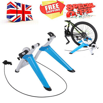 Folding Indoor MTB Bike Cycling Trainer Magnetic Bicycle Exercise Fitness B6A1 • 59.79£