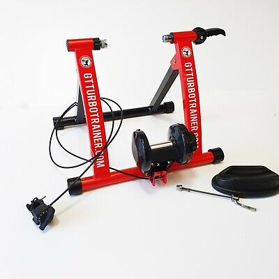 Indoor Exercise Bike Trainer Stand Portable Magnetic 6 Level Resistance Training • 999.99£