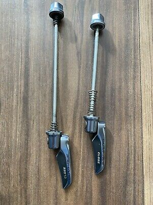 Shimano Dura-Ace 9000 Front And Rear QR Quick Release Road Skewers 130mm 160mm • 14.50£