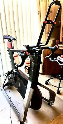 WattBike Atom Bike Cycling Smart Fitness Trainer Pristine Condition -With Extras • 1,600£