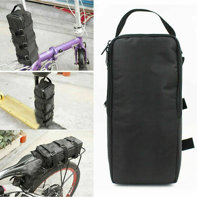 Electric Bike Battery Bag Storage Case Bicycle E-bike Protective Pvc Pack Black • 17.99£