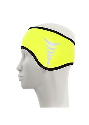 Sports Band Cycling Bike Winter Thermal Headband And Ear Warmer 2 In 1 Large • 1.99£