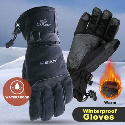 Winter Gloves Waterproof Thermal Touch Screen Thermal Windproof Warm Gloves UK • 10.49£