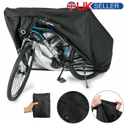 XL Mountain Bike Bicycle Rain Cover Waterproof Heavy Duty Cycle Cover MTB Bag SS • 12.29£