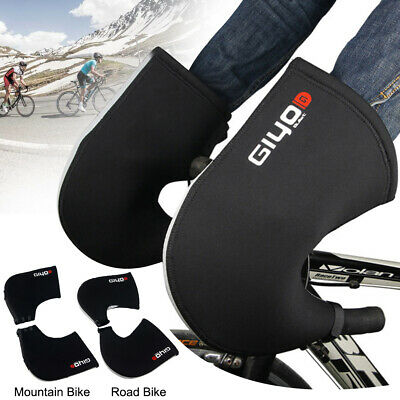 Cycling Gloves Windproof MTB Road Bike Handlebar Mittens Hand Warmer Cover Mitts • 16.87£