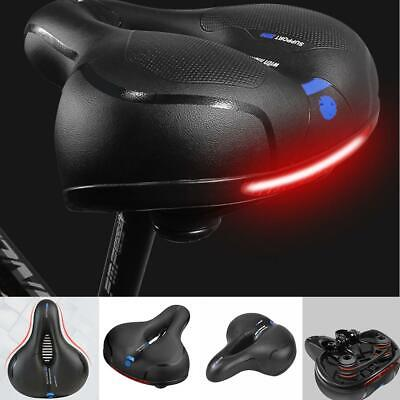 Wide Extra Comfy Bike Bicycle Gel Cruiser Comfort Sporty Soft Pad Saddle Seat !! • 9.89£
